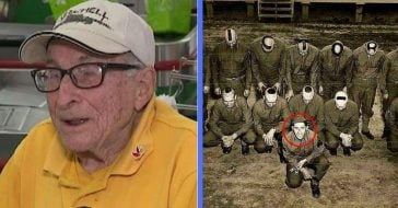 world war ii veteran works at stop and shop at 97 years old