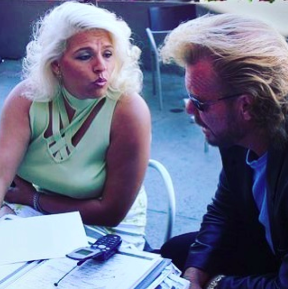A young Beth and Duane Chapman