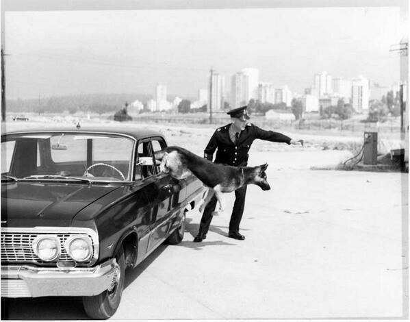 police officer in the 1960s