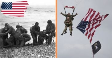 97yr old D-Day veteran parachutes into normandy for 75th anniversary