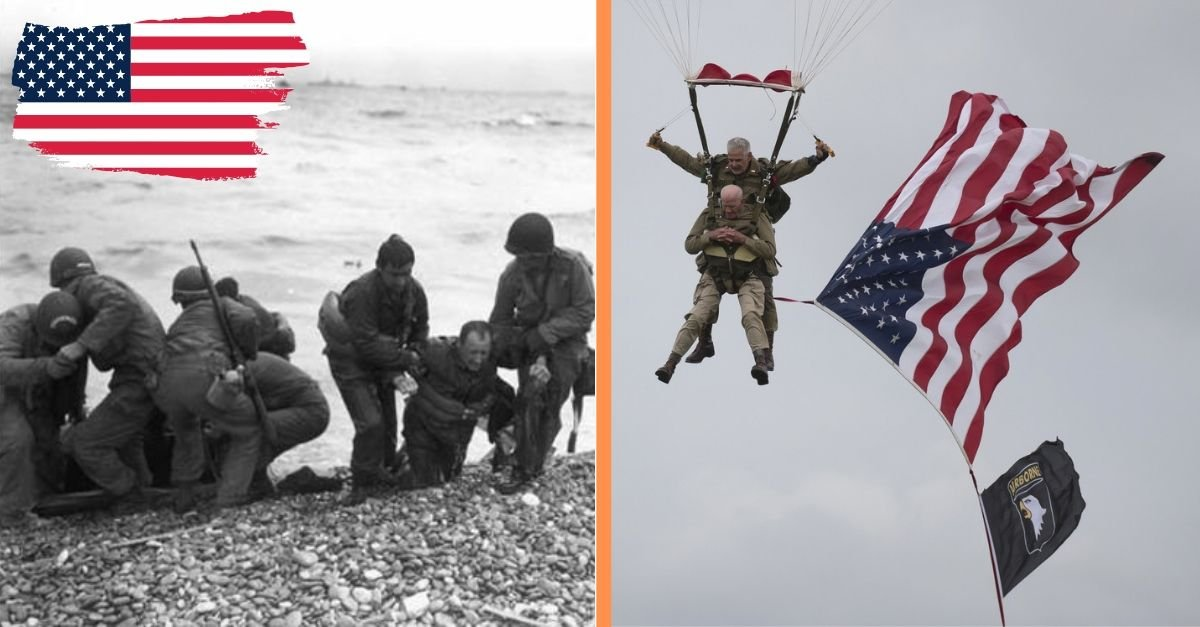 D-Day Veteran Parachutes Into Normandy On The 75th Anniversary