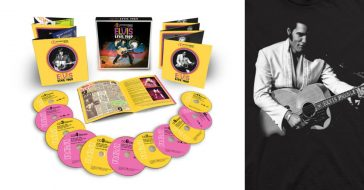 A previously unreleased set of Elvis performances from 1969 in Vegas are being sold