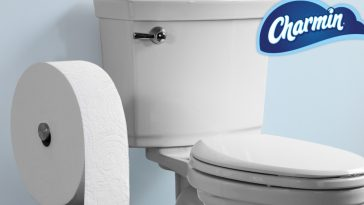 Charmin unveils giant roll of toilet paper geared towards millennials