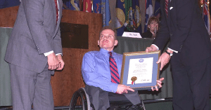 Daniel Philbin, son of Regis Philbin, receives federal recognition for his work