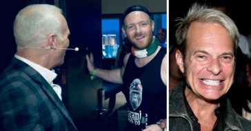 David Lee Roth surprises a bachelor party and they dont recognize him