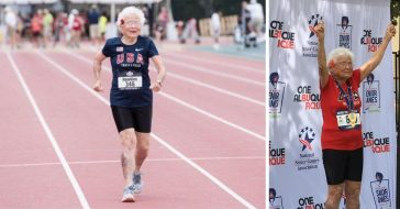 Julia Hurricane Hawkins wins gold medals for running at 103 years old