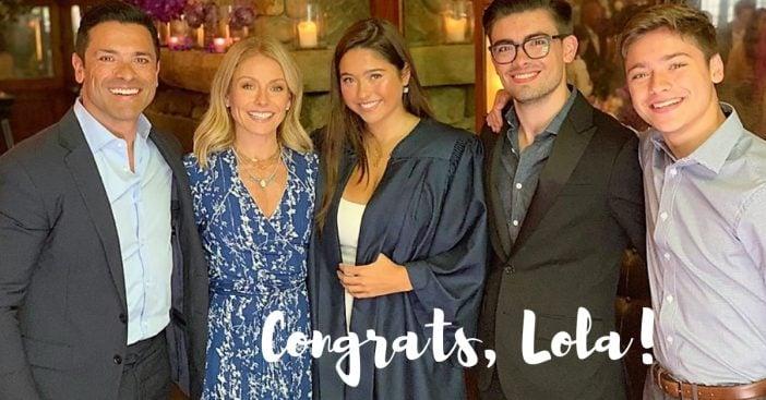 lola consuelos graduated high school