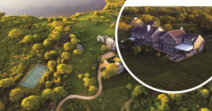 The former home of Jackie O in Marthas vineyard is up for sale for 65 million