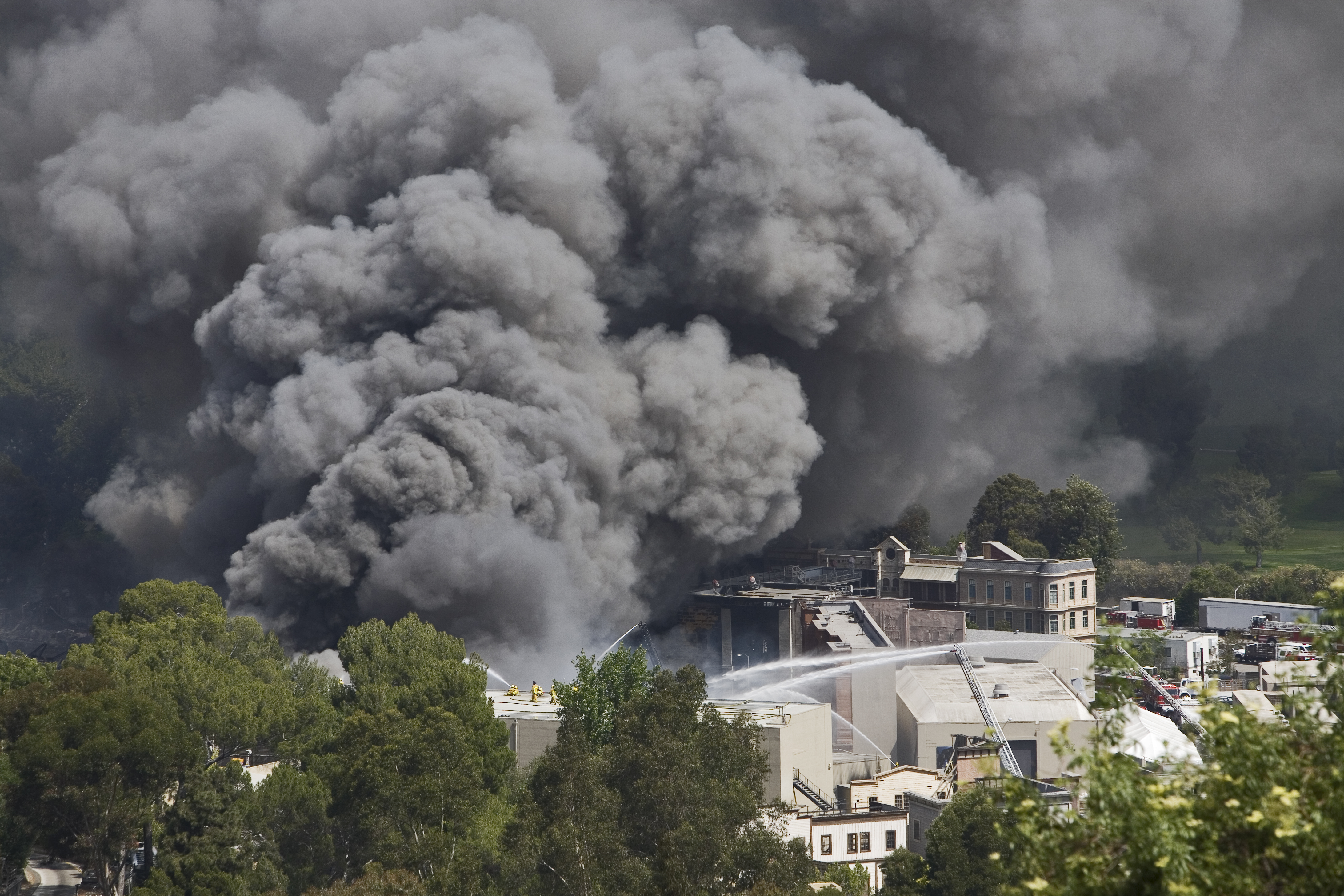 Fire at Universal Studios in 2008