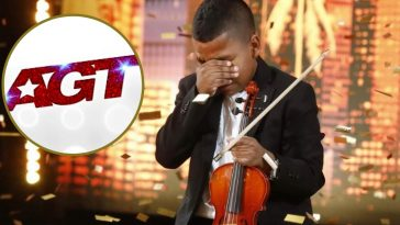Young violinist wows crowd on Americas Got Talent