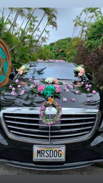 Beth Chapman's decorated car