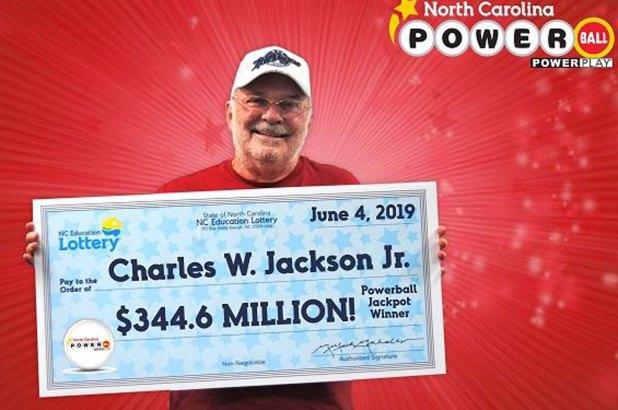 Charles W. Jackson Jr. wins Powerball