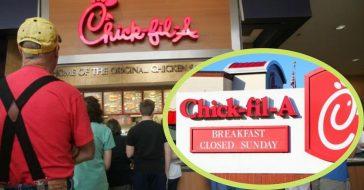 chick fil a closed on sundays successful