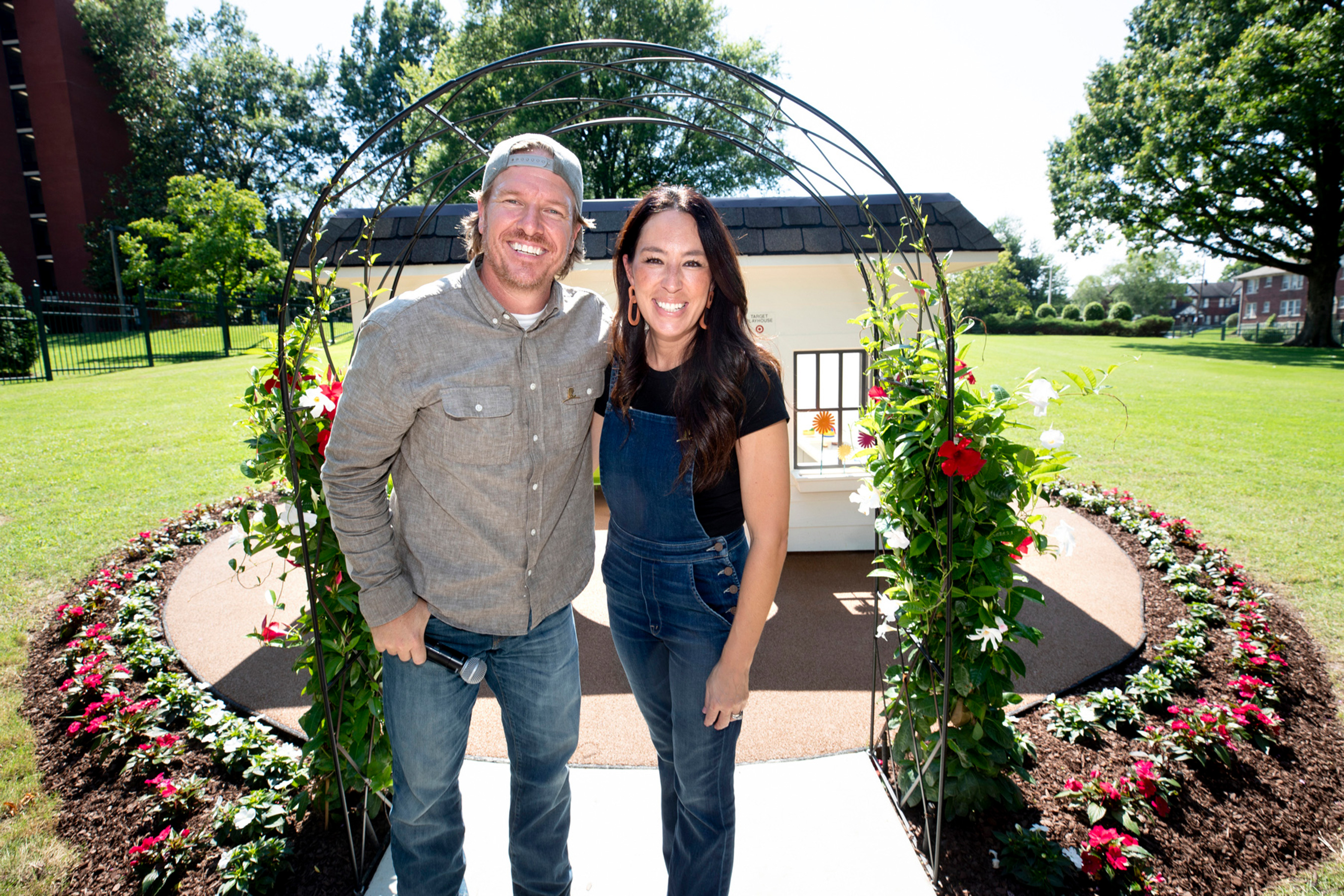Chip and Joanna Gaines at the St. Jude event