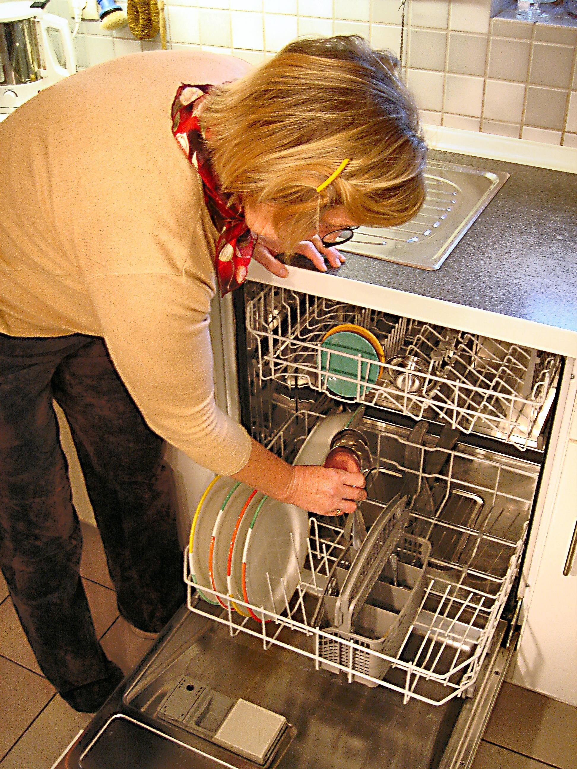 dishwasher loading