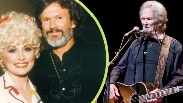dolly parton posts throwback photo for kris kristofferson's birthday