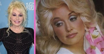 dolly parton wears makeup to bed