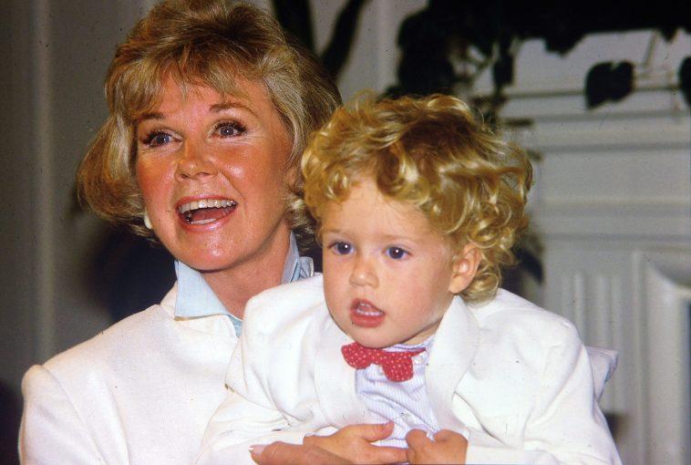 Doris Day with grandson Ryan Melcher