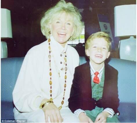 Doris Day and Ryan Melcher