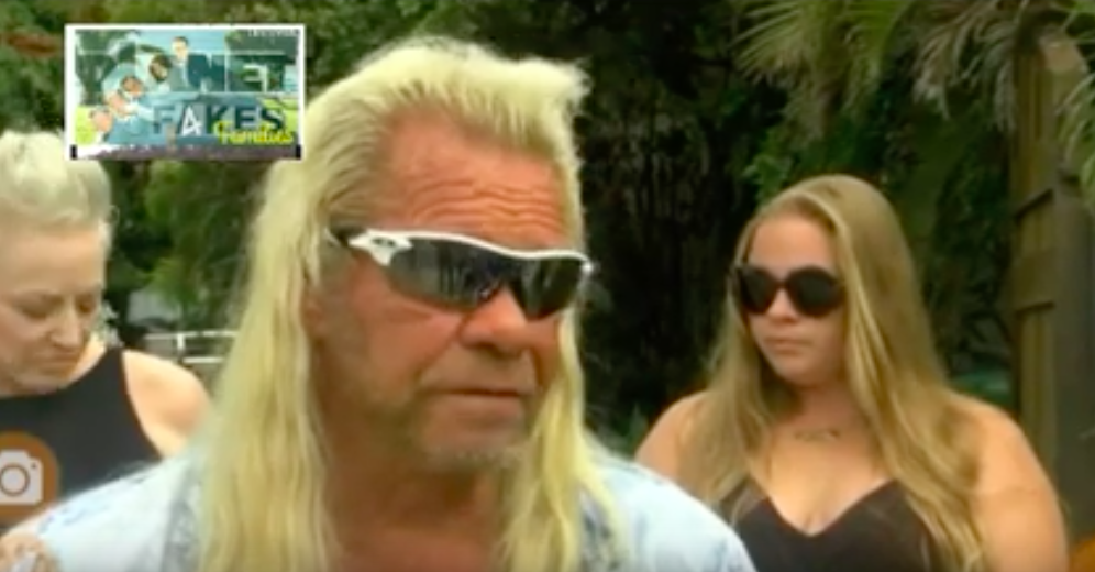 Duane 'Dog' Chapman during press conference