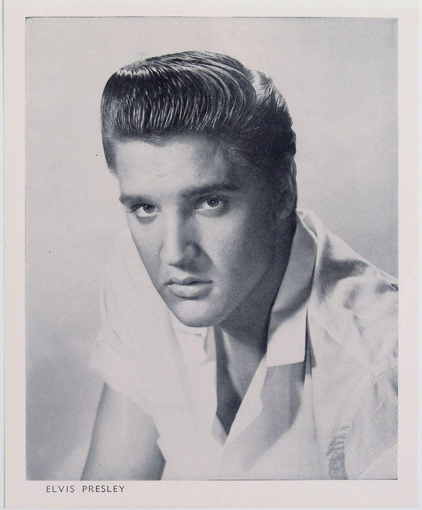 elvis presley in the 1950s