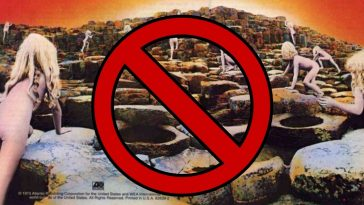 facebook bans led zeppelin's houses of the holy