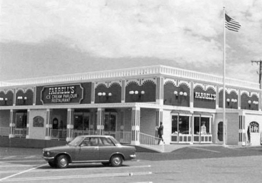 Farrell's Ice Cream Parlour in the 1970s