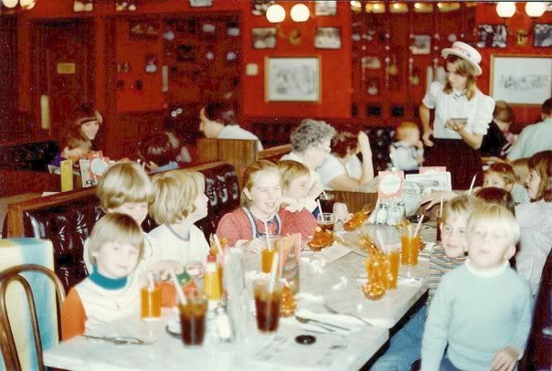 Farrell's Ice Cream Parlour in the '80s