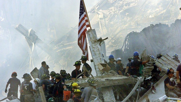 First responders during 9/11 terror attacks