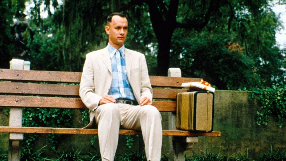 Tom Hanks in Forrest Gump film