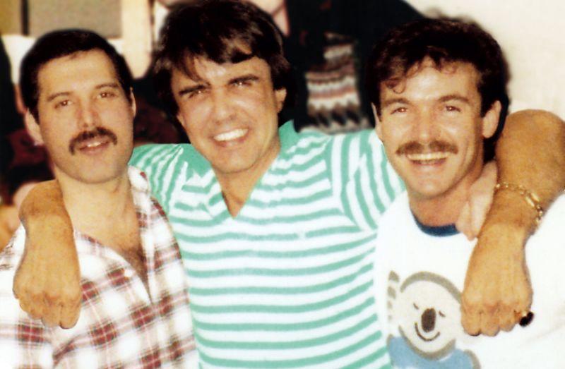 Freddie Mercury, Dave Clark, and John Christie