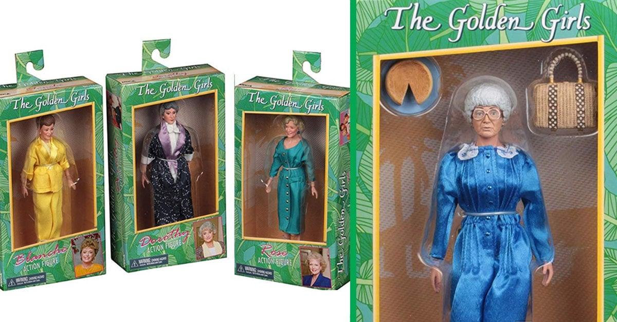 golden girls action figures