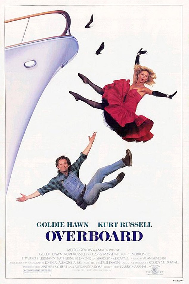 Movie poster for Overboard