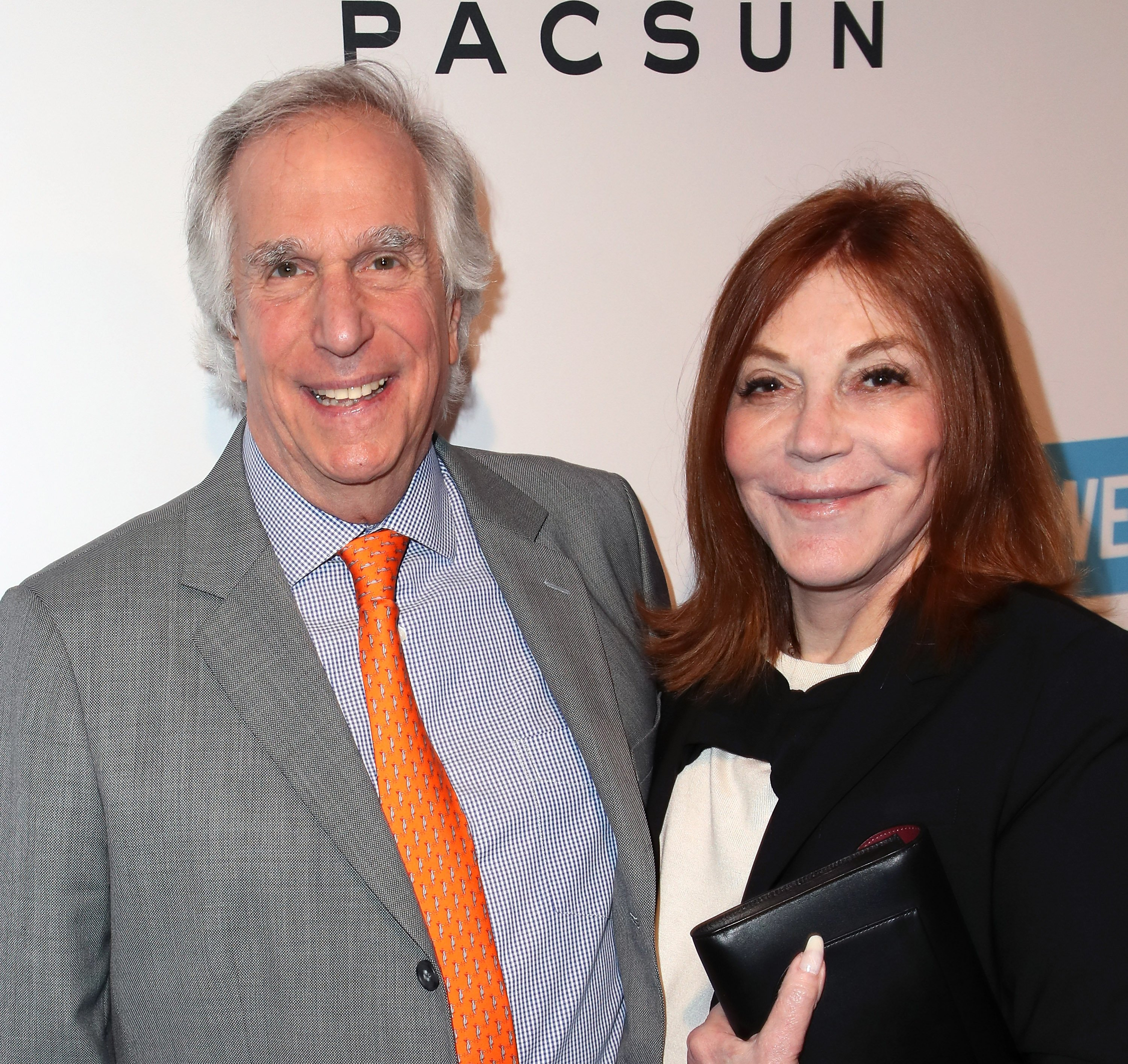 Henry Winkler and his wife