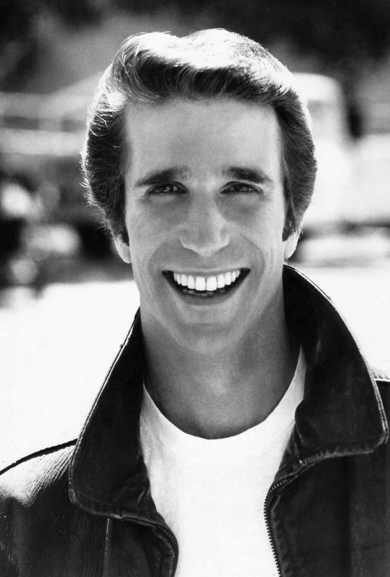 Henry Winkler as Fonzie from Happy Days