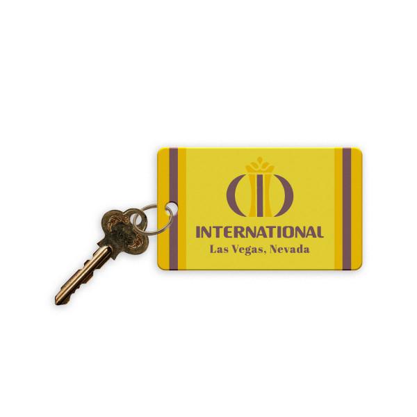 elvis hotel room key vegas