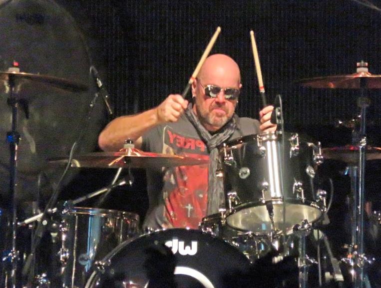 Jason Bonham performing in 2016