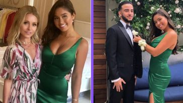 kelly ripa's daughter lola goes to prom