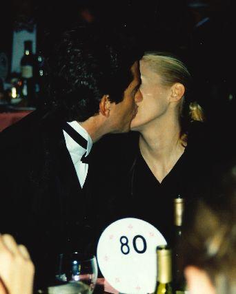 jfk jr and carolyn kissing