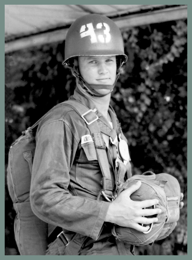 Kris Kristofferson in the military in the 1960s