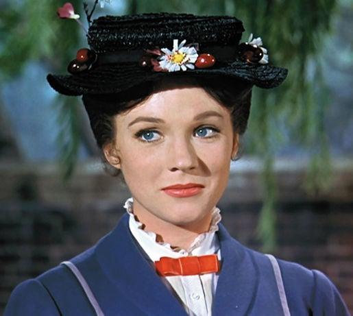 disney mary poppins julie andrews