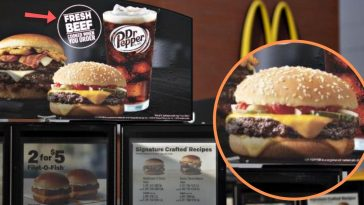 mcdonalds using fresh meat in burgers, boosts sales