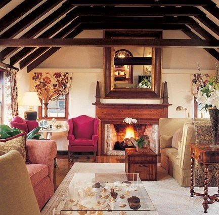 Michael Douglas and Catherine Zeta-Jones home