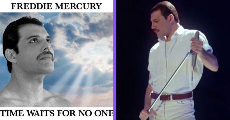 new freddie mercury song has been released