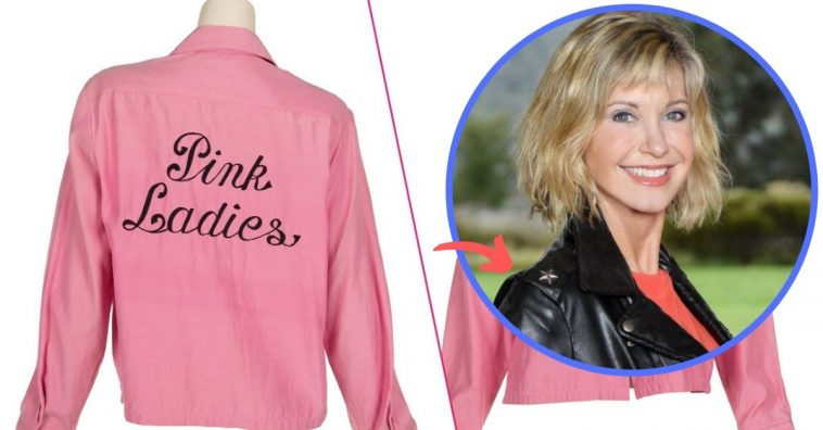 olivia newton-john auctioning off grease costumes