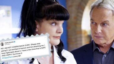 pauley perrette alleges physical assault from mark harmon