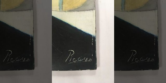 Picasso painting signature