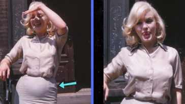 rare photos of an alleged pregnant marilyn monroe