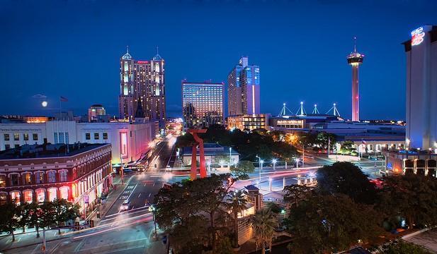 View of downtown San Antonio, Texas