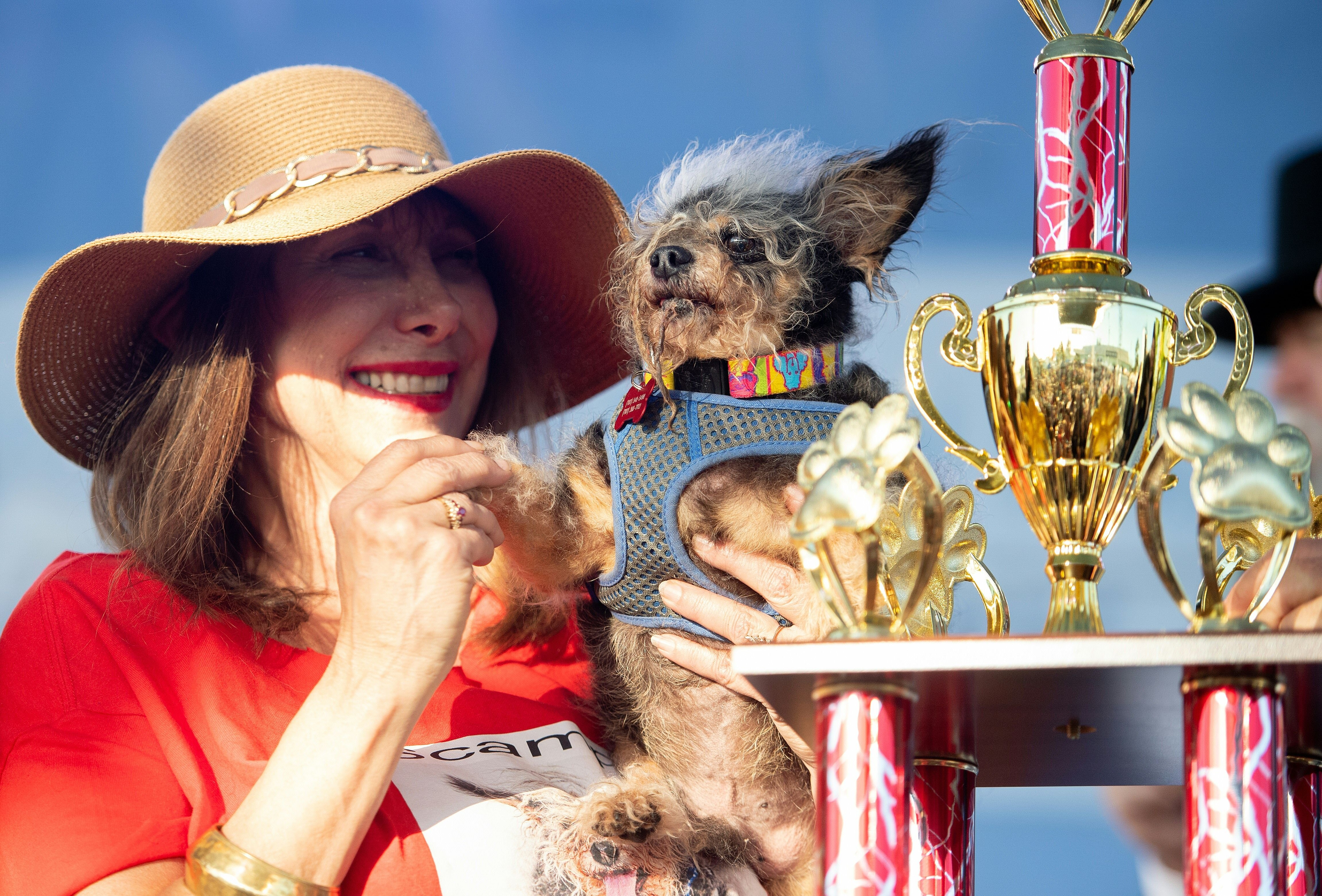 scamp the tramp worlds ugliest dog contest winner